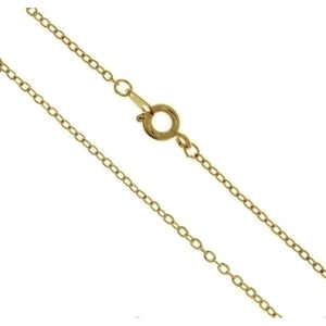 CHAIN NECKLACE CABLE GOLD 1.9 MM X 18 IN (DOZ)