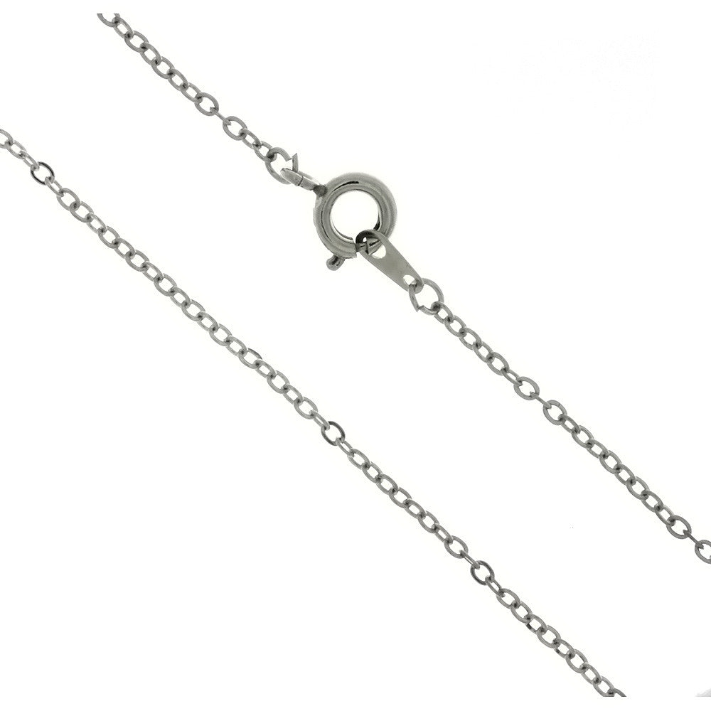 CHAIN NECKLACE CABLE SILVER 1.9 MM X 18 IN (DOZ)
