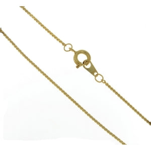 CHAIN NECKLACE HERRINGBONE GOLD 1 MM X 18 IN (DOZ)