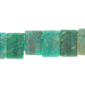 AMAZONITE 15mm Rectangular Tabs