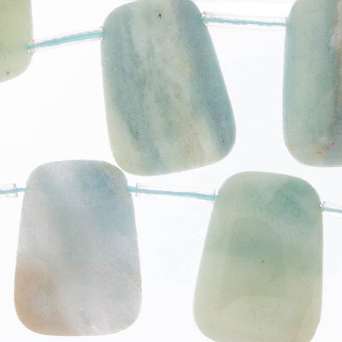 AMAZONITE 25mm Trapezoid
