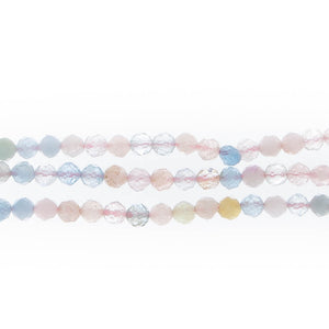 KUNZITE 3.5mm Faceted Round
