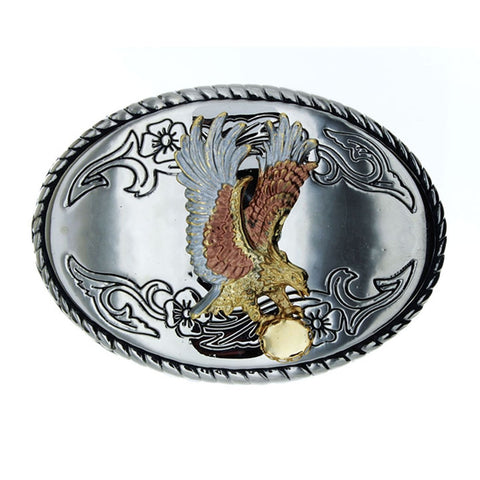 BUCKLE THEMED EAGLE CABOCHON 8 X 10 MM