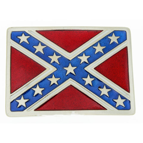 BUCKLE THEMED FLAG CONFEDERATE