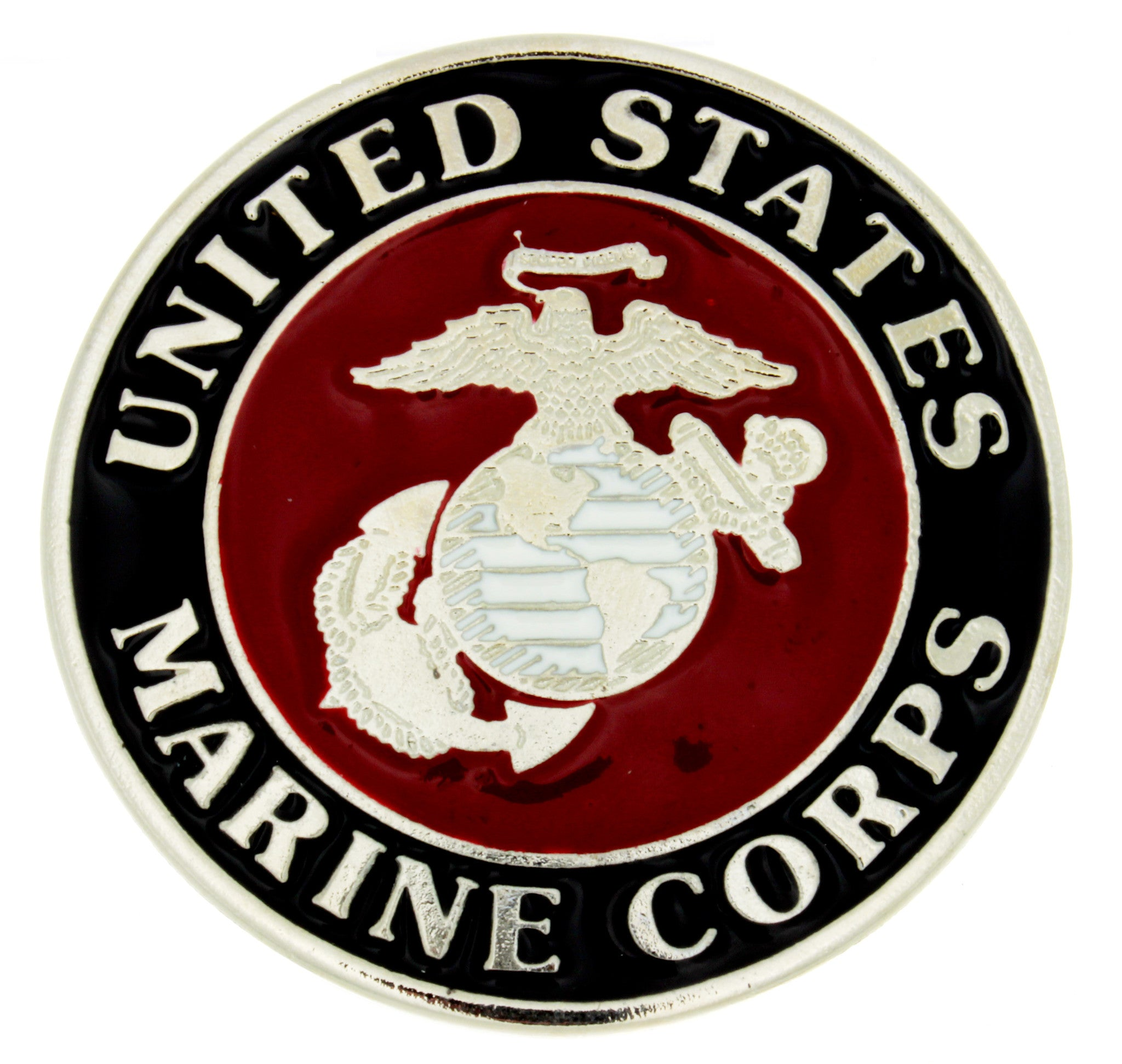BUCKLE THEMED US MARINE CORPS