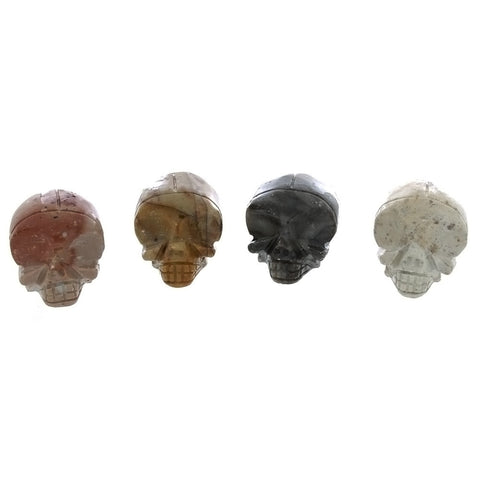 ANIMAL X SKULL SOAPSTONE CARVING (3)