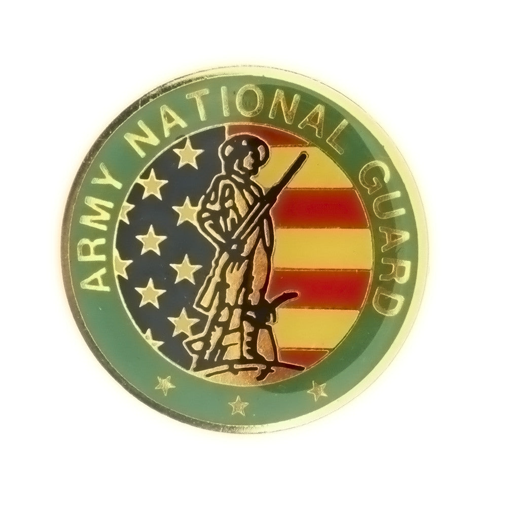 ENAMEL MILITARY ARMY NATIONAL GUARD INSERT