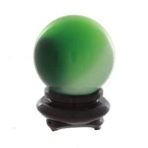 SPHERE GLASS DALE STONE 35 MM (W/ STAND)