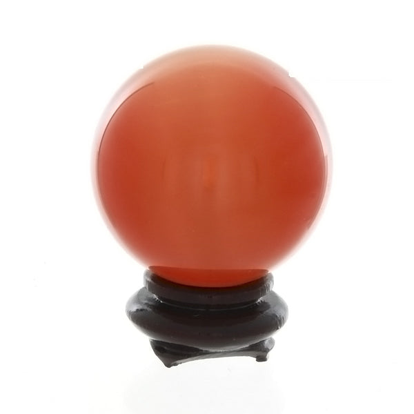 SPHERE GLASS DALE STONE 40 MM (W/ STAND)