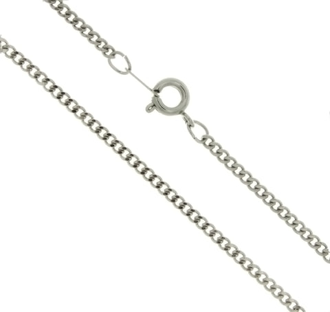 CHAIN NECKLACE CURB STAINLESS STEEL 3 MM X 24 IN (DOZ)