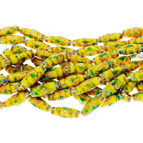BALI LAMP RICE 12 X 28 MM STRAND