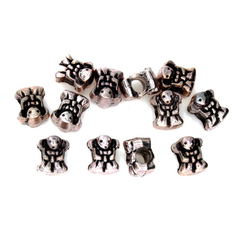 PEWTER BABY 8 X 12 MM BEAD (80 G)