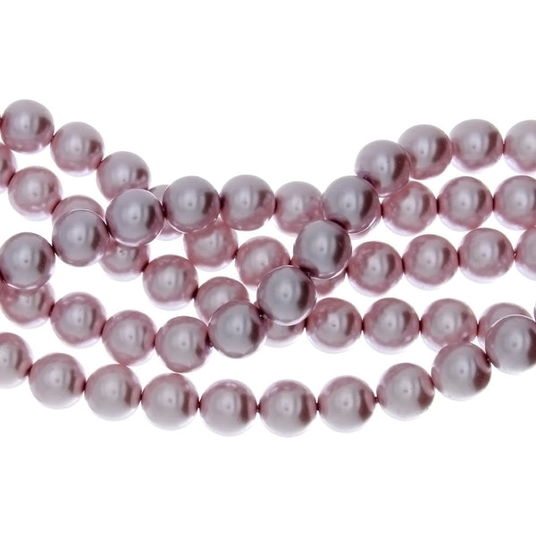 VARIOUS PEARL ROUND 12 MM STRAND