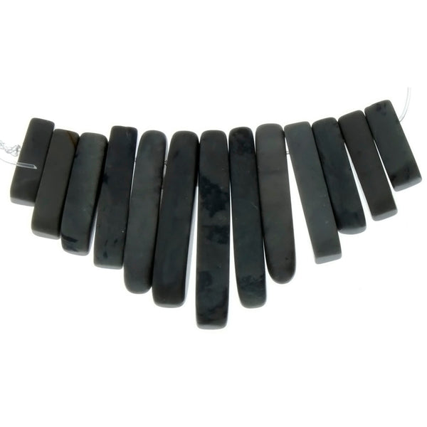 BLACK FAN 43 MM LOOSE (1 PC)