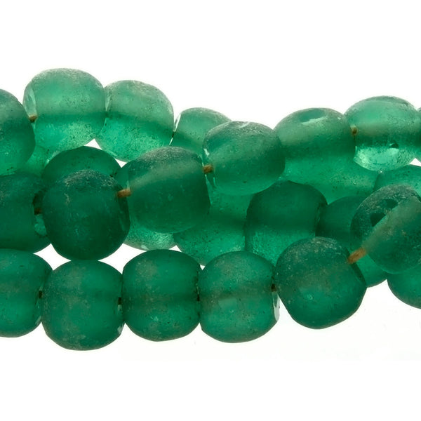 BALI RECYCLED RONDELLE 12 X 14 MM STRAND
