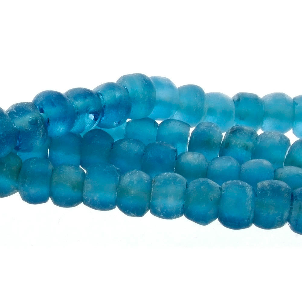 BALI RECYCLED RONDELLE 8 X 12 MM STRAND