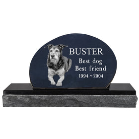 Oblong Pet Headstone