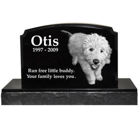 Traditional Pet Headstone