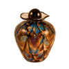 Bella Glass Pet Urn | Desert