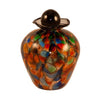Bella Glass Pet Urn | Mauve