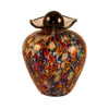 Bella Glass Pet Urn | Autumn