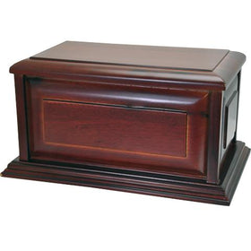 Traditional Wooden Pet Urn | Cherry Finish