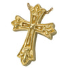 Ornate Cross Cremation Pendant