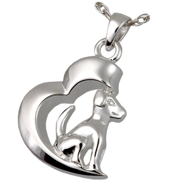 My Heart Dog Cremation Pendant