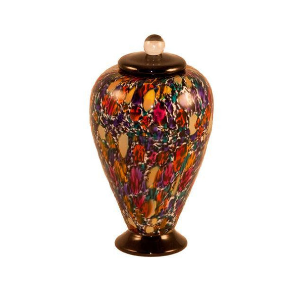 Deco Glass Pet Urn | Desert