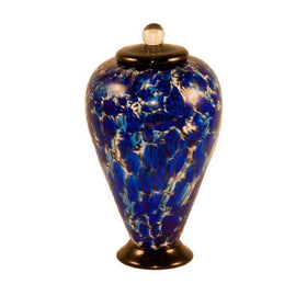Deco Glass Pet Urn | Water