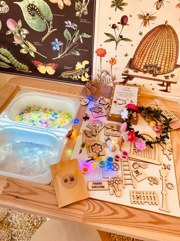 Magic & Fairy Invitation to Play Sensory Box *Limited Edition*