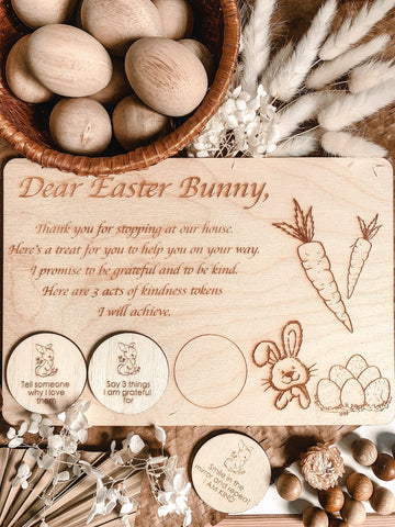 """A Kind Easter"" - Easter Bunny Board"