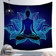 Load image into Gallery viewer, Chakra Mandala Tapestry