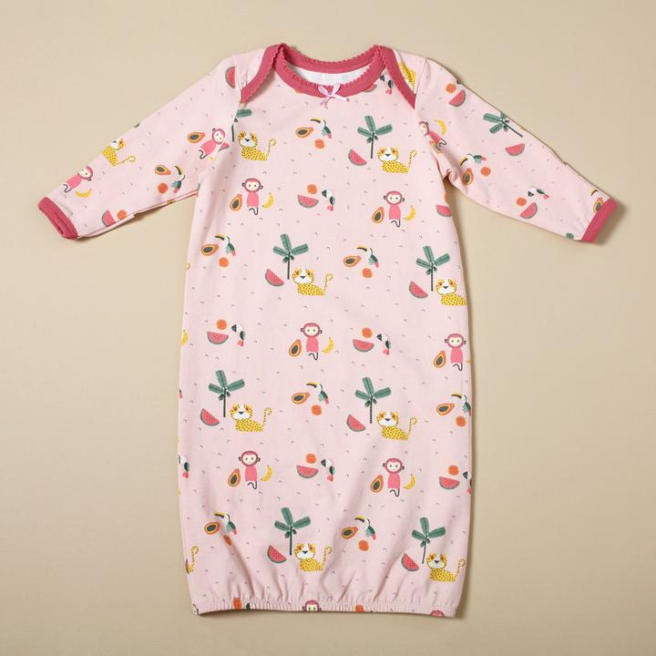 Viverano - Sleep Gown with Matching Hat Set