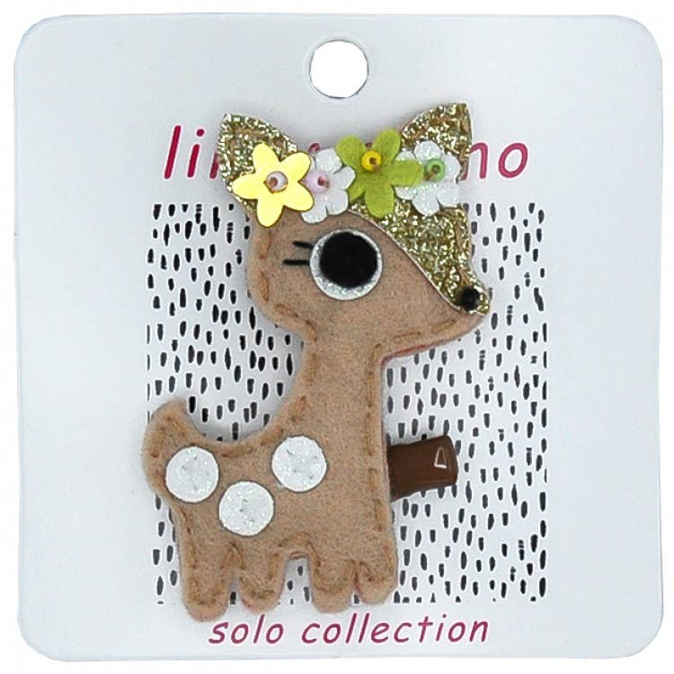 Darling Deer Hair Clip