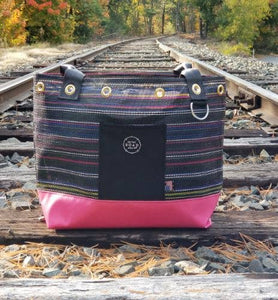 On the Road Again - Raymond Pink Tote Bag