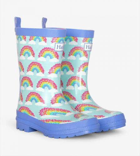 Hatley - Magical Rainbows Shiny Rain Boots