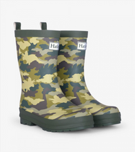 Load image into Gallery viewer, Hatley - Dino Camo Matte Rain Boots
