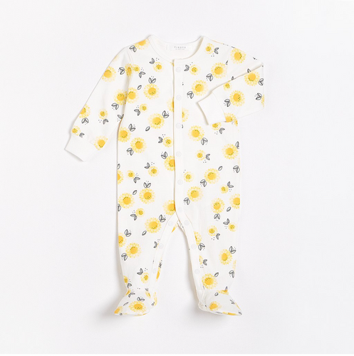 FIRSTS - Sunflowers Button Sleeper