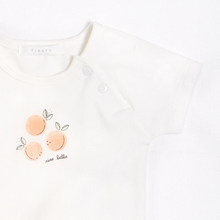 Load image into Gallery viewer, FIRSTS - Peaches Outfit Set with Organic Cotton (3 pcs.)