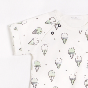 FIRSTS - Gelato Romper with Organic Cotton