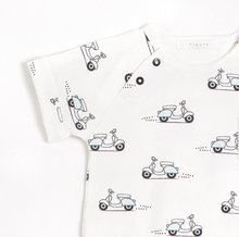 Load image into Gallery viewer, FIRSTS - Motorino Romper with Organic Cotton