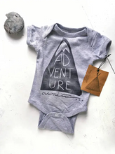 Load image into Gallery viewer, The Bird and Elephant - Cotton Bodysuit - Adventure Awaits