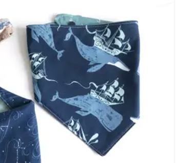 The Bird and Elephant - Bandana Bib