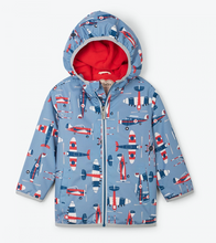 Load image into Gallery viewer, Hatley - Paper Planes Microfiber Rain Jacket