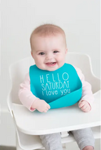 Load image into Gallery viewer, Bella Tunno - Saturday Love Wonder Bib