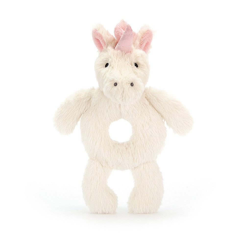 Jellycat - Bashful Unicorn Ring Rattle