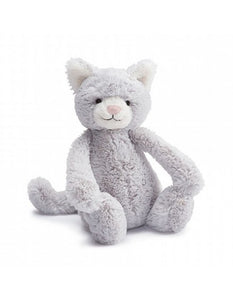 Jellycat - Bashful Grey Kitty