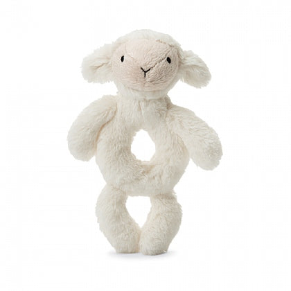 Jellycat - Bashful Lamb Ring Rattle