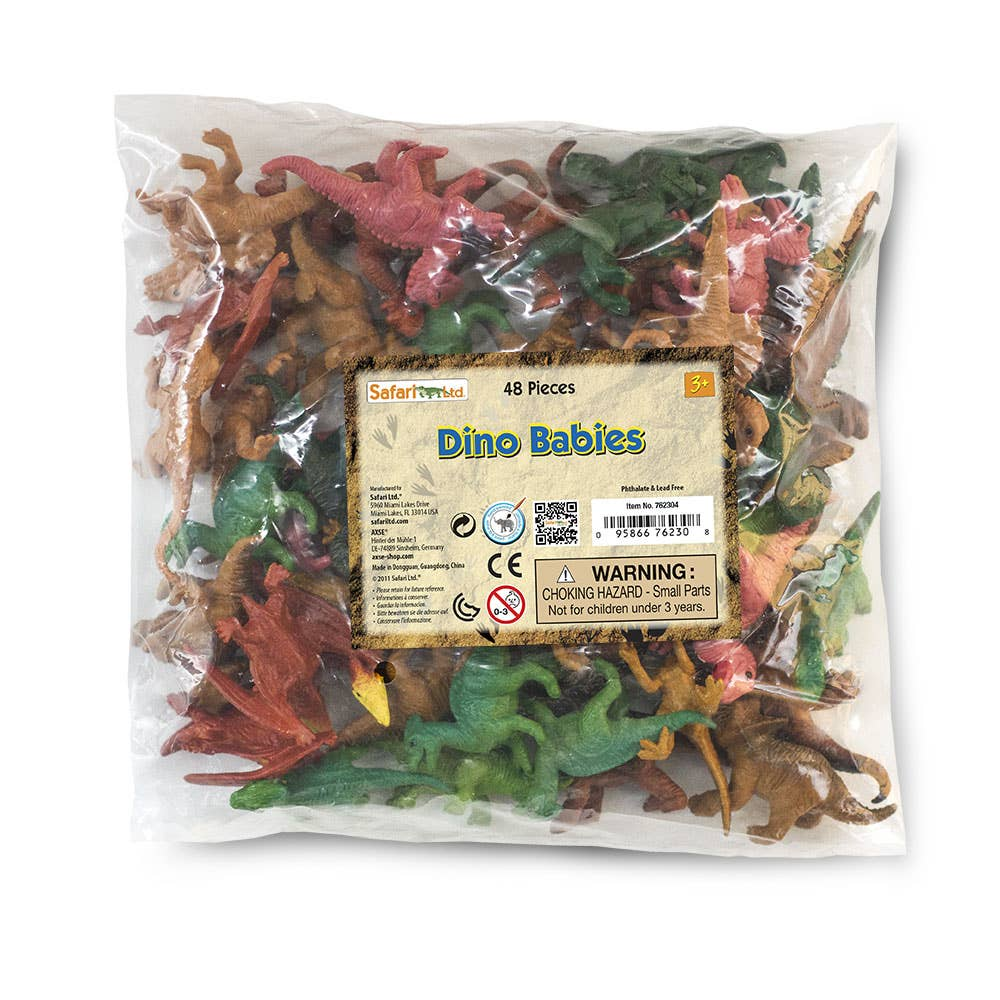 Safari Ltd. - Dino Babies Bulk Bag - 762304